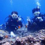 沖縄ダイビング☆8/16 青の洞窟体験ダイビング 10時半 えりな