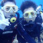 沖縄ダイビング☆8/16 青の洞窟体験ダイビング 15時半 えりな