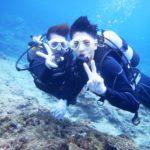 沖縄ダイビング☆8/16 青の洞窟体験ダイビング 8時 しおん