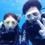沖縄ダイビング☆8/17 青の洞窟体験ダイビング 8:00~ しおん