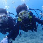 沖縄ダイビング☆8/17 青の洞窟体験ダイビング 15:30~ なすび