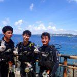 沖縄ダイビング☆8/17 青の洞窟体験ダイビング 8:00~ なすび