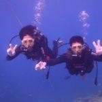 沖縄ダイビング☆8/17 青の洞窟体験ダイビング 15:30~ えりな