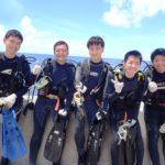 沖縄ダイビング☆8/18 青の洞窟体験ダイビング 10:30~ しおん・たく