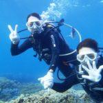 沖縄ダイビング☆8/20 15時半 サンゴ礁体験ダイビング   たく