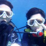 沖縄ダイビング☆8/20 15時半 サンゴ礁体験ダイビング   えりな