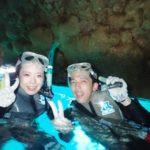 沖縄ダイビング☆8/26 青の洞窟スノーケル 8:00~ しおん