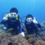 沖縄ダイビング☆8/29 サンゴ礁体験ダイビング 8:00~ とも