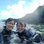 沖縄ダイビング☆8/29 青の洞窟体験ダイビング 10時半 えりな