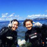 沖縄ダイビング☆8/29 青の洞窟体験ダイビング 13:00~ えりな