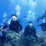沖縄ダイビング☆8/29 青の洞窟体験ダイビング 15:30~ しおん・なすび