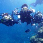 沖縄ダイビング☆8/30 青の洞窟体験ダイビング 13:00~ たく・なすび
