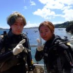 沖縄ダイビング☆8/31 青の洞窟体験ダイビング 10:30~
