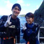 沖縄ダイビング☆9/6  青の洞窟体験ダイビング 15時半~