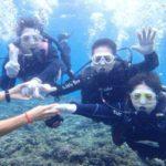 沖縄ダイビング☆9/15 青の洞窟体験ダイビング  8時〜  しおん・たく