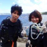 沖縄ダイビング☆9/15 青の洞窟体験ダイビング 13時〜  しおん