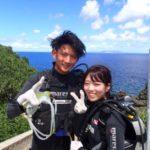 沖縄ダイビング☆9/16 青の洞窟体験ダイビング 13時~ たく