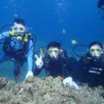 沖縄ダイビング☆9/16 青の洞窟体験ダイビング 15時~ たく・しおん