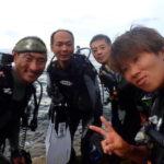 沖縄ダイビング☆9/9  ビーチFUN  なすび