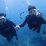 沖縄ダイビング☆9/15 青の洞窟体験ダイビング  13時〜  なすび