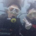 沖縄ダイビング☆9/10 サンゴ礁体験ダイビング 13時~ りょう・なすび
