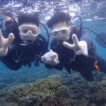 沖縄ダイビング☆9/12 青の洞窟体験ダイビング 15時半~ なすび