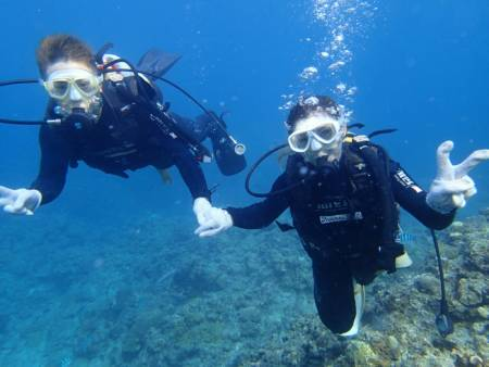 沖縄ダイビング☆9/17 青の洞窟体験ダイビング 15時半~   たく