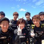 沖縄ダイビング☆9/3 サンゴ礁体験ダイビング 10:30~ たく・しおん・えりな