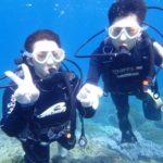 沖縄ダイビング☆9/3 サンゴ礁体験ダイビング 8:00~ しおん