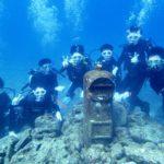 沖縄ダイビング☆9/3 サンゴ礁体験2ダイビング 8:00~ たく・なすび・とも