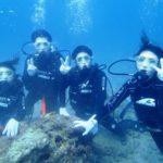沖縄ダイビング☆9/3 サンゴ礁体験ダイビング 15:30~ しおん・たく