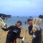 沖縄ダイビング☆9/4 サンゴ礁体験ダイビング 10:30~ えりな