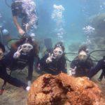 沖縄ダイビング☆9/4 サンゴ礁体験ダイビング10:30~ なすび・たく