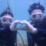 沖縄ダイビング☆9/4 サンゴ礁体験ダイビング13:00~ えりな