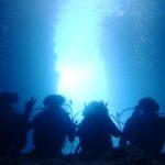 沖縄ダイビング☆9/8 8時〜 青の洞窟体験ダイビング2DIVEコース  なすび・しおん