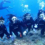 沖縄ダイビング☆9/8 13時〜 青の洞窟体験ダイビング  なすび・新城