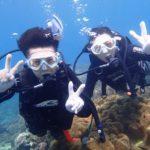 沖縄ダイビング☆9/12 サンゴ礁体験ダイビング 13時~ たく