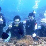 沖縄ダイビング☆9/13 サンゴ礁体験ダイビング 13時~ しおん・たく