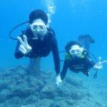 沖縄ダイビング☆9/14 サンゴ礁体験ダイビング・スノーケル 8時~ しおん
