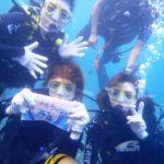 沖縄ダイビング☆9/19  青の洞窟体験ダイビング  15時〜  しおん・なすび
