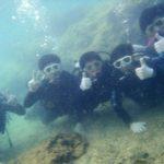 沖縄ダイビング☆9/23 青の洞窟体験ダイビング 15時半~ 新庄・えりな