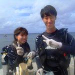 沖縄ダイビング☆9/26 サンゴ礁体験ダイビング 10時半~ 新庄