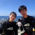 沖縄ダイビング☆10/8 サンゴ礁体験ダイビング 10時半~ なすび
