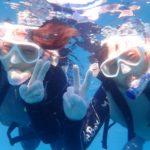 沖縄ダイビング☆ 10/2 珊瑚体験スノーケル 15:00~ しおん