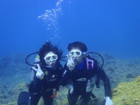 沖縄ダイビング☆10/20 サンゴ礁体験ダイビング 8時~ 新庄