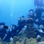 沖縄ダイビング☆10/31 サンゴ礁体験ダイビング 10時~  なすび・とも・しおん