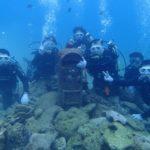 沖縄ダイビング☆11/2 10時半 サンゴ礁体験ダイビング  なすび・たく・しおん