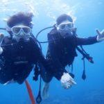 沖縄ダイビング☆11/2 15時 サンゴ礁体験ダイビング  なすび