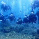 沖縄ダイビング☆11/2 13時 サンゴ礁体験ダイビング   たく・しおん・なすび