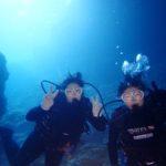 沖縄ダイビング☆11/7 13時 贅沢2DIVE サンゴ礁体験ダイビング とも